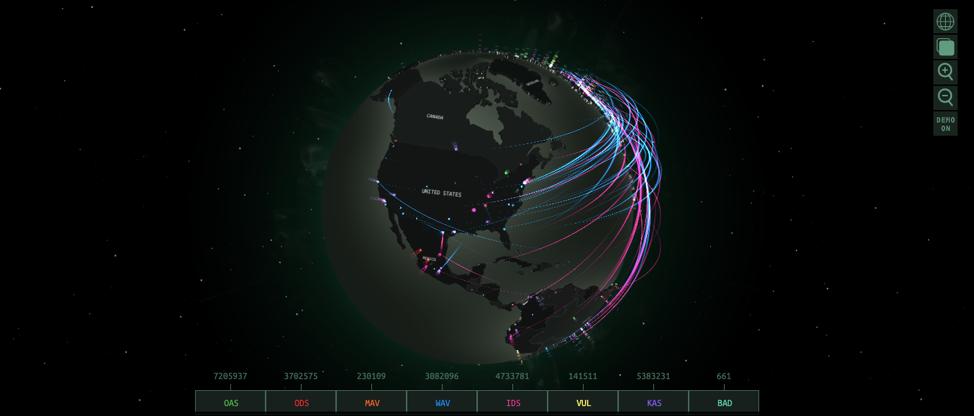 Kaspersky-Threat-Map