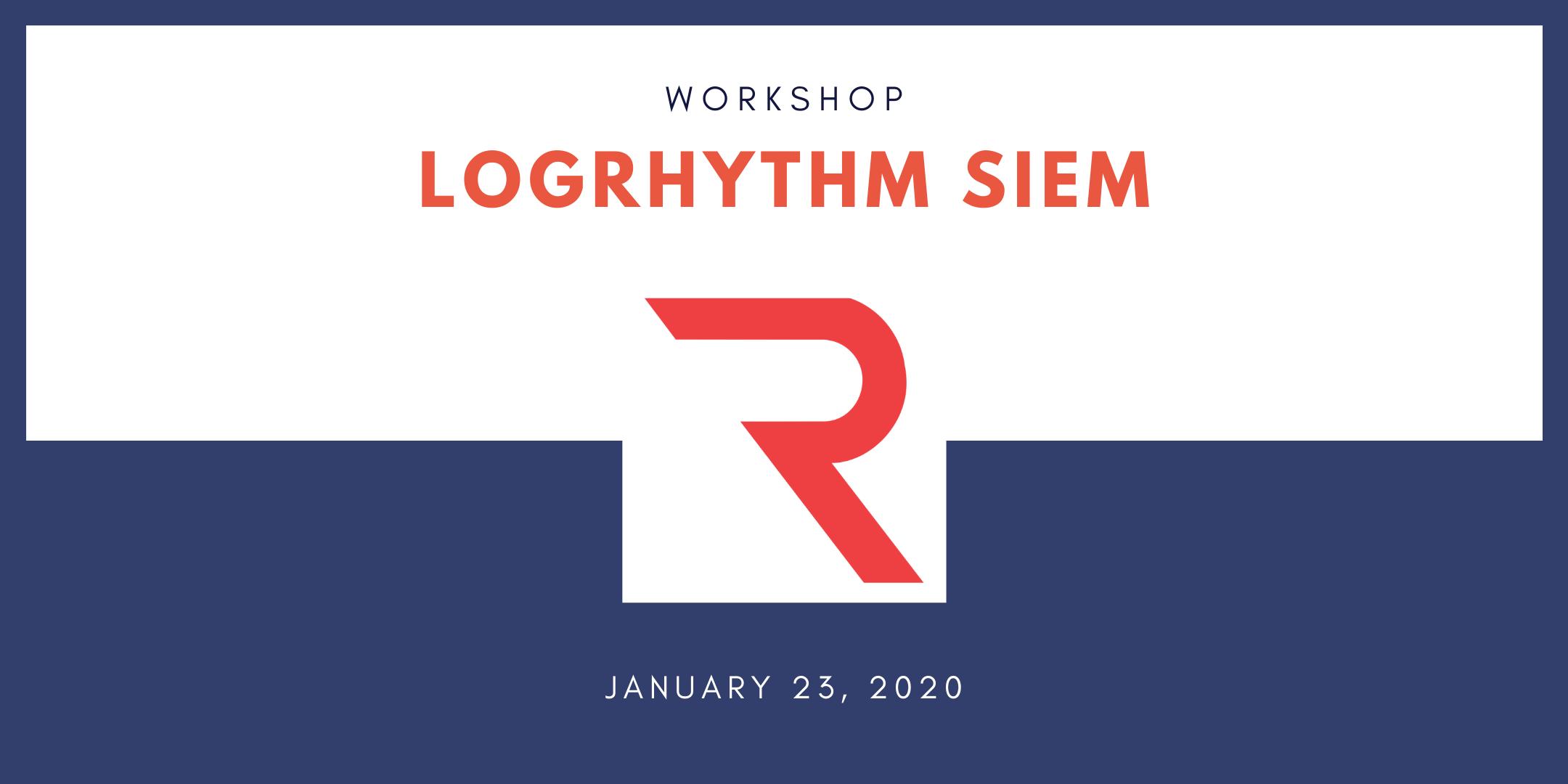 LogRhythm-Workshop-2020